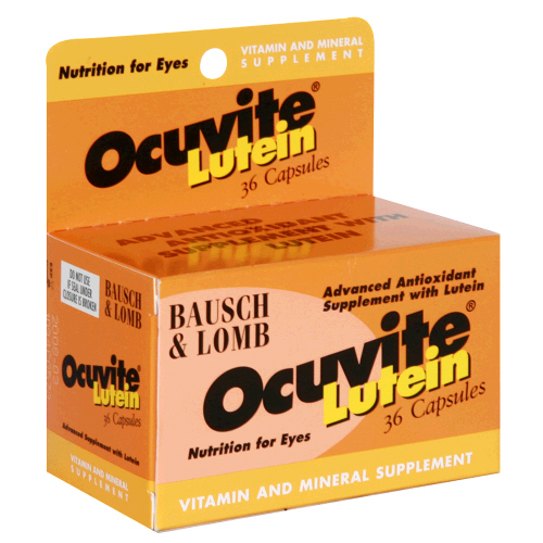 Ocuvite Multivitamin With Lutein 36 Capsules