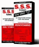 S.S.S. Tonic Iron Supplement 20 Oz