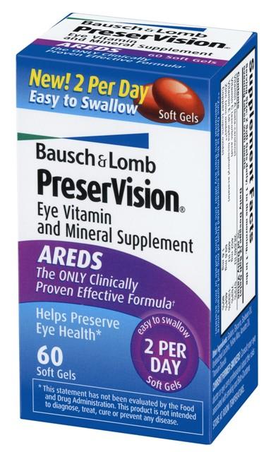 Preservision Multivitamin Soft Gels 60