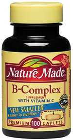 Nature Made B Complex With Vitamin C 100 Caplet