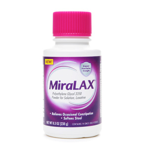 Laxative Stool Softners And Cathartic Miralax Otc