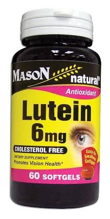 Image 0 of Lutein 6mg Cholestrol Free Dietary Supplement Softgels 60