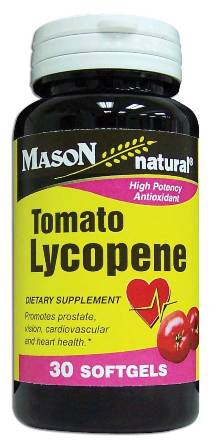 Image 0 of Tomato Lycopene 10mg Dietary Supplement Softgels 30