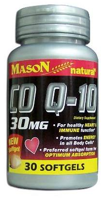 Image 0 of Co Q00 Coenzyme 30mg Dietary Supplement Softgels 30