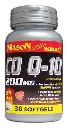 Image 0 of Co Q-10 Coenzyme 200mg Dietary Supplement Softgels 30