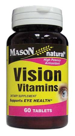 Image 0 of Vision Vitamins For Eye Health Dietary Supplement Tablets 60