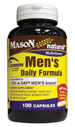 Image 0 of Men's Daily Formula Compare To One-A-Day With Lycopene Capsules 100