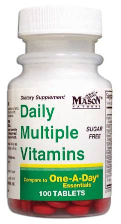 Image 0 of Daily Multiple Vitamins Sugar Free Compare To One-A-Day Essentials Tablets 100