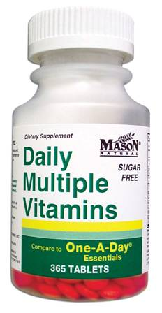 Image 0 of Daily Multiple Vitamins Sugar Free Compare To One-A-Day Essentials Tablets 365