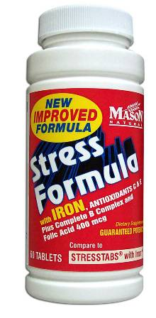 Image 0 of Stress Formula With Iron Compare To Stress Tabs Tablets 60