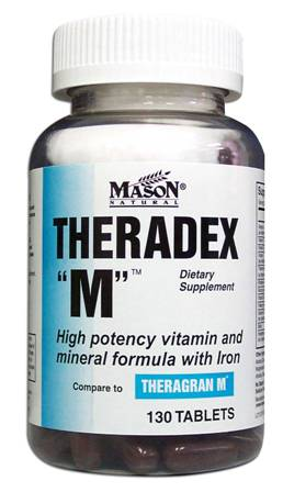 Image 0 of Theradex-M Compare To Theragran M Dietary Supplement Tablets 130