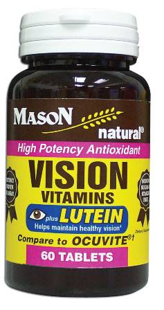 Image 0 of Vision Vitamins Plus Lutien Compare To Ocuvite Tablets 60