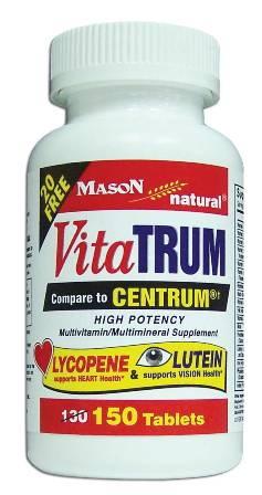 Image 0 of Vitatrum Complete With Lycopene & Lutein Compare To Centrum Tablets 150