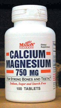 Image 0 of Calcium Magnesium 750 mg Dietary Supplement Tablets 100