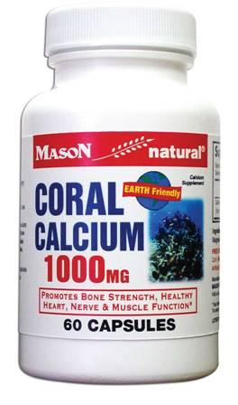 Image 0 of Coral Calcium 1000mg Calcium Supplement Capsules 60