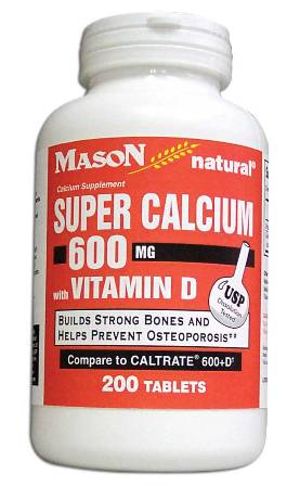 Image 0 of Super Calcium 600 mg With Vitamin D Tablets 200