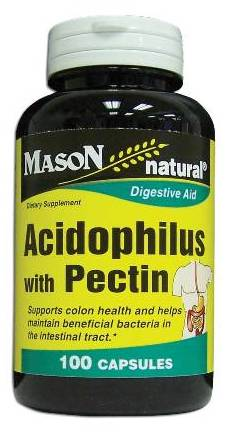 Image 0 of Acidophilus With Pectin Digestive Aid Dietary Supplement Capsules 100