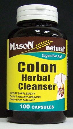 Image 0 of Colon Herbal Cleanser Diegestive Aid Dietary Supplement Capsules 100