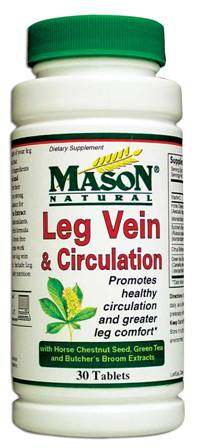 Image 0 of Leg Vein & Circulation Dietary Supplement Tablets 30