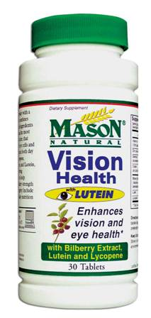 Image 0 of Vision Health With Lutein Condition Formula Tablets 30
