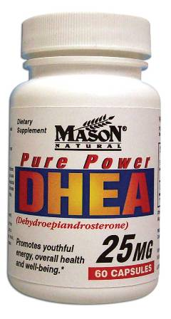 Image 0 of Pure Power Dhea 25 mg Dietary Supplement Capsules 60