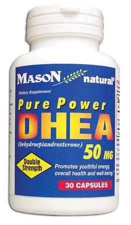 Image 0 of Pure Power Dhea 50 mg Double Strength Dietary Supplement Capsules 30