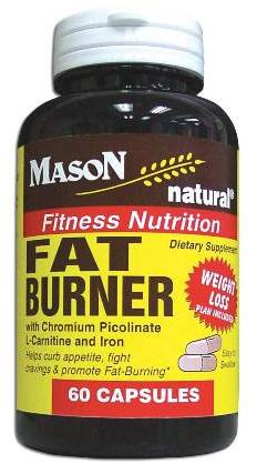 Image 0 of Fat Burner With Chromium Picolinate L-Carnitine & Iron Capsules 60