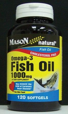 Image 0 of Omega-3 Fish Oil Epa-1000mg Cholestrol Free Softgels 120