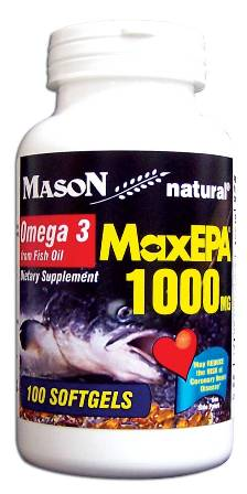Image 0 of Maxepa 1000 mg Omega 3 From Fish Oil Dietary Supplement Softgels 100