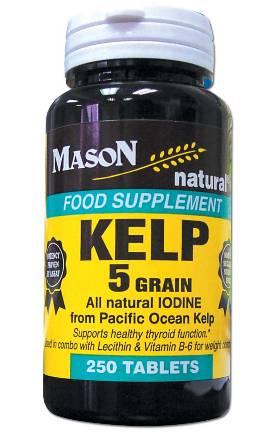 Image 0 of Kelp 5 Grain Food Supplement Tablets 250