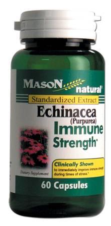 Image 0 of Echinacea Purpurea 80mg Immune Strength Standardized Extract Capsules 60