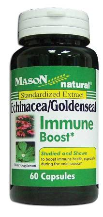 Image 0 of Echinacea/Goldenseal Immune Boost Standardized Extract Capsules 60