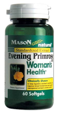 Image 0 of Evening Primrose Womans Health Standardized Extract Oil Softgles 60