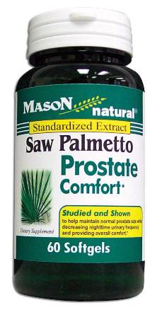 Image 0 of Saw Palmetto Porstate Comfort Standardized Extract Dietary Supplement Softgels 6