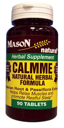Image 0 of Calmme Natural Herbal Formula Herbal Supplement Tablets 90
