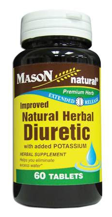 Image 0 of Natural Herbal Diuretic With Added Potassium Timed Release Tablets 60