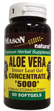 Image 0 of Aloe Vera Inner Leaf Gel Concentrate 5000 Softgels 60