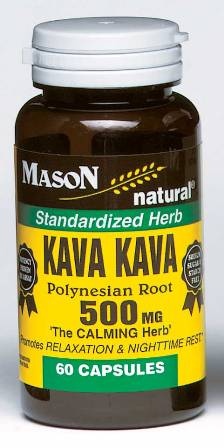 Image 0 of Kava Kava Polynesian Root 500mg The Calmin Herb Capsules 60