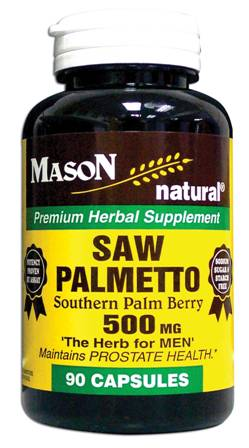 Image 0 of Saw Palmetto 500mg Southern Palm Berry Capsules 90
