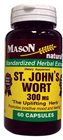 Image 0 of St. John's Wort 300mg Herb Dietary Supplement Capsules 60