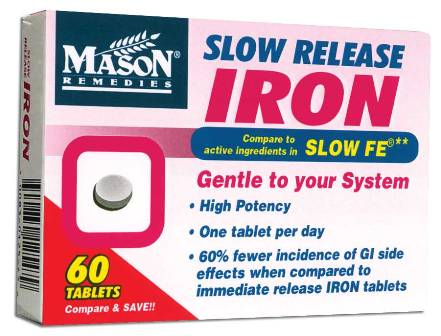 Image 0 of Slow Release Iron Compare To Slow Fe Tablets 60