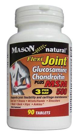 Image 0 of Flexi-Joint Glucosamine Chondroitin Plus Msm 500 Tablets 90