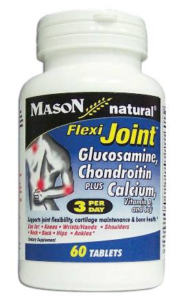 Image 0 of Flexi-Joint Glucosamin Chondroitin Plus Calcium Vitamin D & Soy Tablets 60