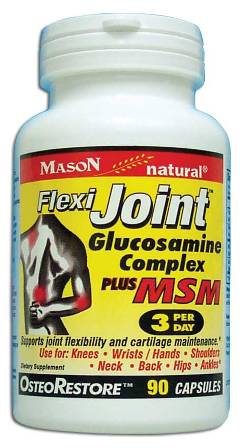 Image 0 of Flexi-Joint Glucosamine Complex Plus Msm Dietary Supplement Capsules 90