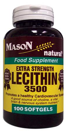 Image 0 of Lecithin 3500 Extra Strength Food Supplement Softgels 100