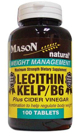 Image 0 of Lecithin Kelp/B-6 Plus Cider Vinegar Weight Management Softgels 100