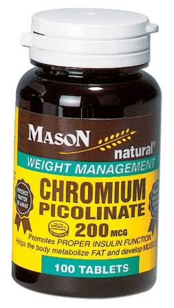 Image 0 of Chromium Picolinate 200Mcg Weight Management Tablets 100