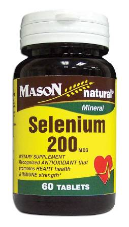 Image 0 of Selenium 200 Mcg Mineral Dietary Supplement Tablets 60