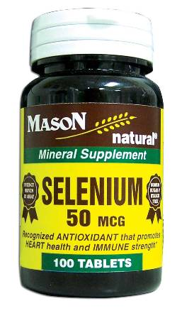 Image 0 of Selenium 50 Mcg Mineral Supplement Tablets 100