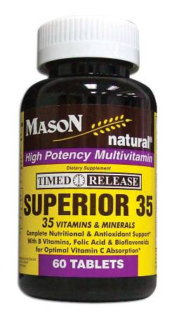 Image 0 of Superior 35 Timed Release High Potency Multivitamin Tablets 60